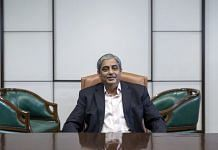 A file photo of former HDFC Bank chief executive officer Aditya Puri. | Photo: Kanishka Sonthalia/Bloomberg