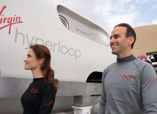 Virgin Hyperloop performed its first successful test passenger run   Twitter   @virginhyperloop