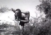 The video of B.K.S. Iyengar that has been widely circulated on social media | YouTube