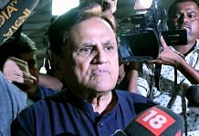 A file photo of Congress leader Ahmed Patel. | Photo: ANI