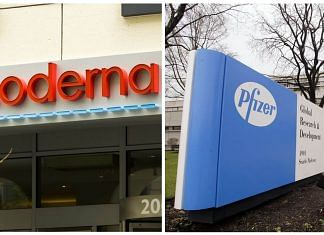 Pfizer Inc. and Moderna Inc. | Bloomberg