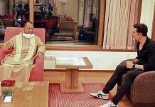 UP CM Yogi Adityanath meets Bollywood actor Akshay Kumar in Mumbai Wednesday   Photo: PTI