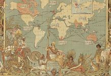 Imperial Federation, map of the world showing the extent of the British Empire in 1886 | Wikimedia Commons