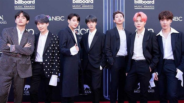 Popular K-pop band BTS | Wikimedia commons