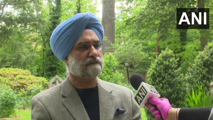 The Indian Ambassador to the US Taranjit Singh Sandhu | ANI