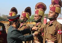 File photo | New Army recruits being attested after successful completion of their training at the Mahar Regiment Centre | Facebook/Indianarmy.adgpi
