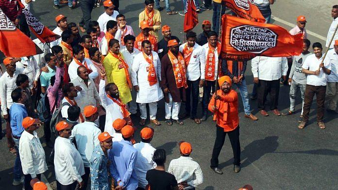 Maharashtra Navnirman Sena (MNS) workers during a rally in Mumbai in February 2020 | ANI File Photo