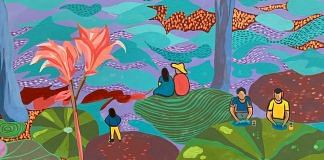 Mural in Sunder Nursery by Senyensen | Fiza Jha/ThePrint