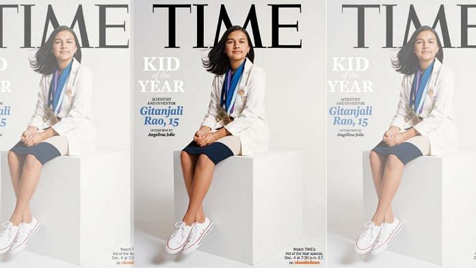 15-year-old scientist is Time's first Kid of the Year