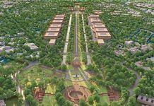 A model view of Delhi's proposed Central Vista | Credit: HCP Design, Planning and Management Pvt Ltd