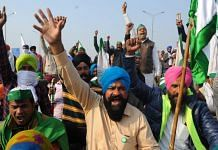 Farmers protest at Delhi's Ghazipur border (representational image) | Photo: Suraj Singh Bisht | ThePrint