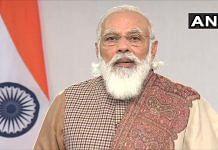 File image of Prime Minister Narendra Modi| Twitter/ANI