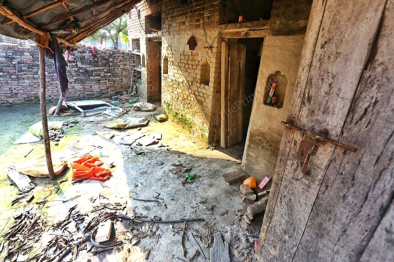 The state of the house of the accused, Jibrail.   Photo: Praveen Jain/ThePrint