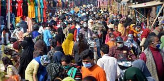 A large crowd of people shopping in a marketplace   Representational photo: ANI