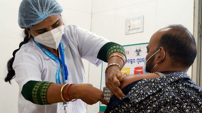 Covid-19 vaccination is expected to provide a boost to the global economy, the finance ministry says   Representational image: ANI