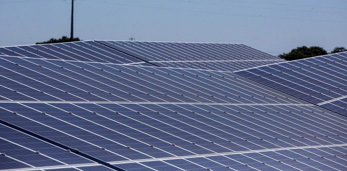 Representational image of a solar plant | Bloomberg