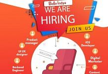 A job advertisement released by Indian video app Bolo Indya on 28 January   Twitter   @Bolo_Indya