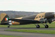File image of the Dakota vintage aircraft of the IAF | Twitter | @IAF_MCC