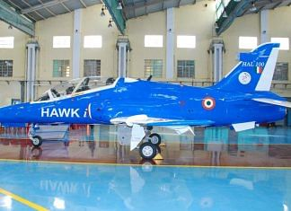 Smart Anti Airfield Weapon test fired from a Hawk-i aircraft in Odisha on 21 January