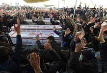 Hazaras protest in Quetta   Via Twitter/@RiazToori
