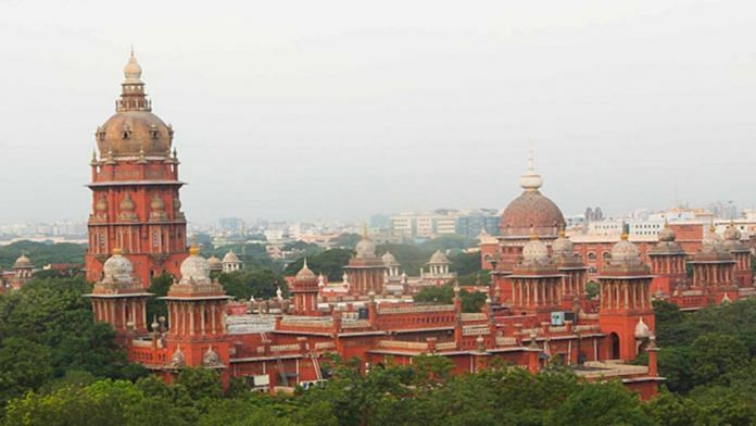 A view of the Madras High Court in Chennai | hcmadras.tn.nic.in