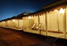 The luxury campsite set up in Konark, Odisha | Simrin Sirur | ThePrint