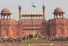 Hundreds of protesters gathered at Red Fort Tuesday   Suraj Singh Bisht   ThePrint