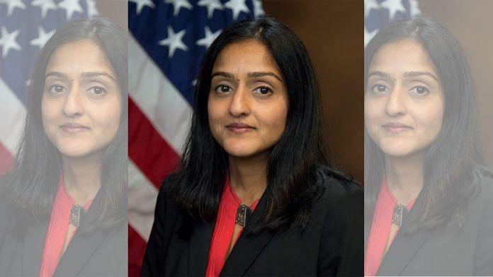Vanita Gupta, Biden-Harris administration's Associate Attorney General nominee   Wikimedia commons