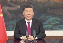 Chinese President Xi Jinping delivering his speech at the WEF Davos Agenda 2021 on 25 January | Twitter | @wef