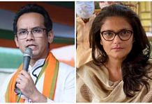 File photos of Congress leaders Gaurav Gogoi and Sushmita Dev. | Photo: Twitter