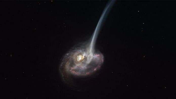 Durham University: Galaxy mergers could limit star formation