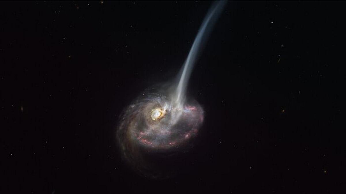 For the first time ever, astronomers are witnessing a galaxy's 'death' as it's happening - ThePrint
