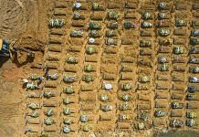Graves of Covid-19 victims at a cemetery in Manaus, Brazil, on 19 January 2021 | Photo: Jonne Roriz | Bloomberg