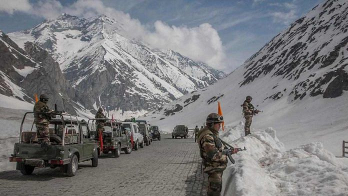 Chinese soldier detained in Ladakh