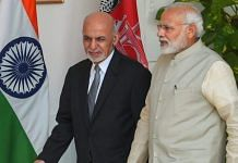 File photo of Prime Minister Narendra Modi and Afghanistan President Ashraf Ghani in New Delhi | Shahbaz Khan | PTI