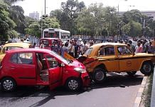 Representational image of a road accident | Wikimedia Commons