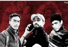 (L-R) Ibrar Ahmed, Imtiaz Ahmed and Abrar Ahmed, the three youth killed in the Shopian 'encounter' in July 2020 | ThePrint Team