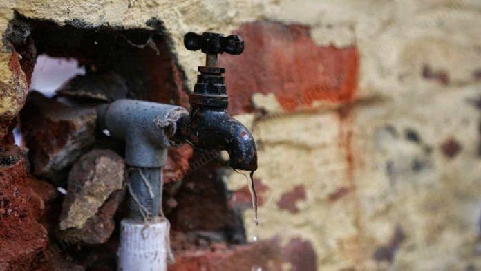 A water tap in Rugsana village in Karnal | Manisha Mondal | ThePrint
