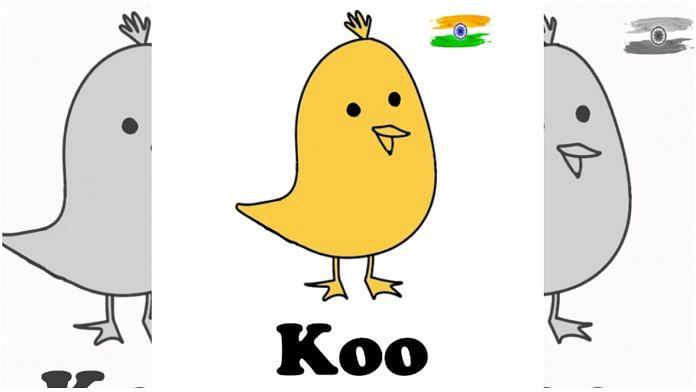 Social media app Koo