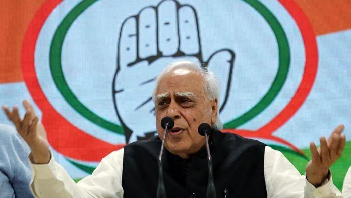 File image of senior Congress leader Kapil Sibal   Photo: ANI