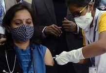 A nurse vaccinates a doctor in Kolkata | Representational image: ANI