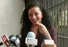 Journalist Priya Ramani speaks to media on the defamation case filed by former Union minister MJ Akbar, in New Delhi on Wednesday. | ANI