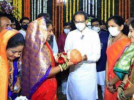 Maharashtra CM & Shiv Sena president Uddhav Thackeray attends a Chhatrapati Shivaji birth anniversary celebration at Fort Shivneri in Mumbai Friday | Photo: ANI