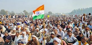 File photo | Farmers during 'Kisan Mahapanchayat' against the farm laws, in Jind | PTI