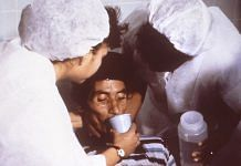 Representational image | A cholera patient being given oral rehydration solution (ORS) | Wikimedia Commons