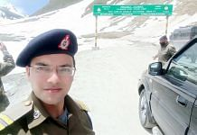 Indian Engineering Service officer Subhan Ali was deployed with the Border Roads Organisation in Ladakh   Photo: Facebook   Subhan Ali