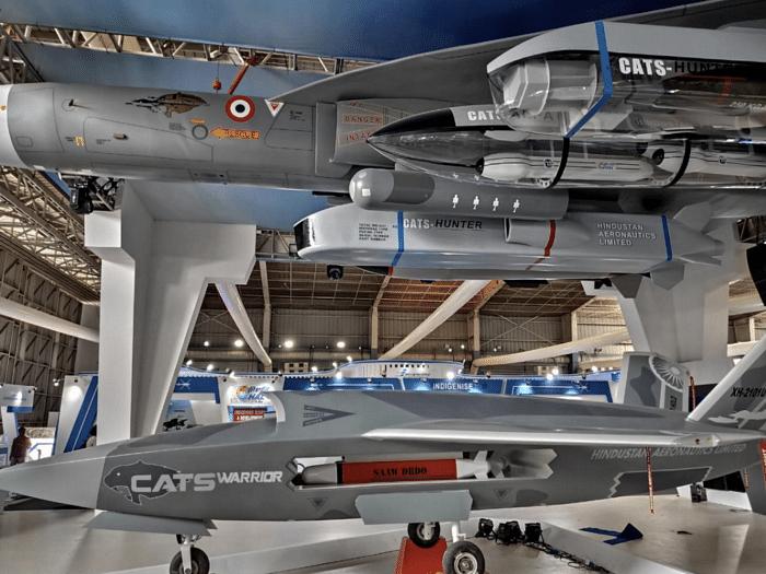 HAL's CATS Warrior Unmanned Wingman has been unveiled at Aero India 2021 | sameerjoshi73.medium.com