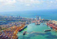 Representational image of the Colombo port | Photo: Twitter/@slpauthority