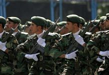 Representationalimage of Iranian Army soldiers on the outskirts of Tehran   Bloomberg