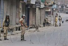 Representational image | Security forces stand guard in Srinagar | Photo: Praveen Jain | ThePrint
